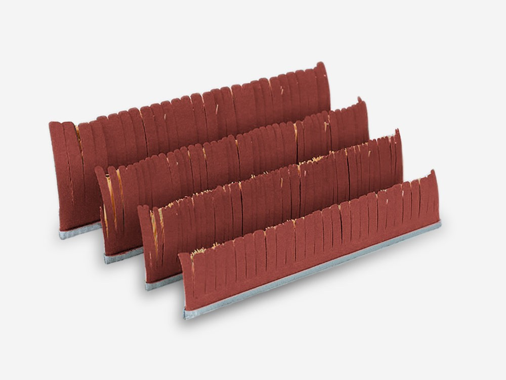 Tampico abrasive strips